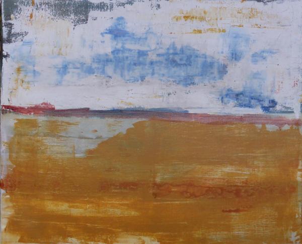 Weite, Acryl auf Leinwand, 2015 (c) Rainer Bergmann M.A.