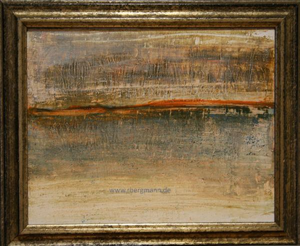 Stille im Wind, Acryl auf Leinwand, 24 x 30 cm (c) Rainer Bergmann M.A.