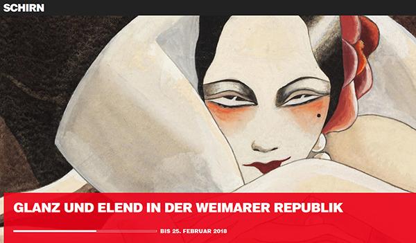 Ausstellung in der Schirn/Frankfurt bis zum 25. Februar 2018